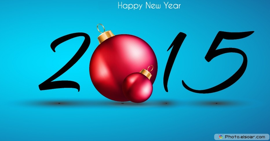 New Year 2015 Greeting Image