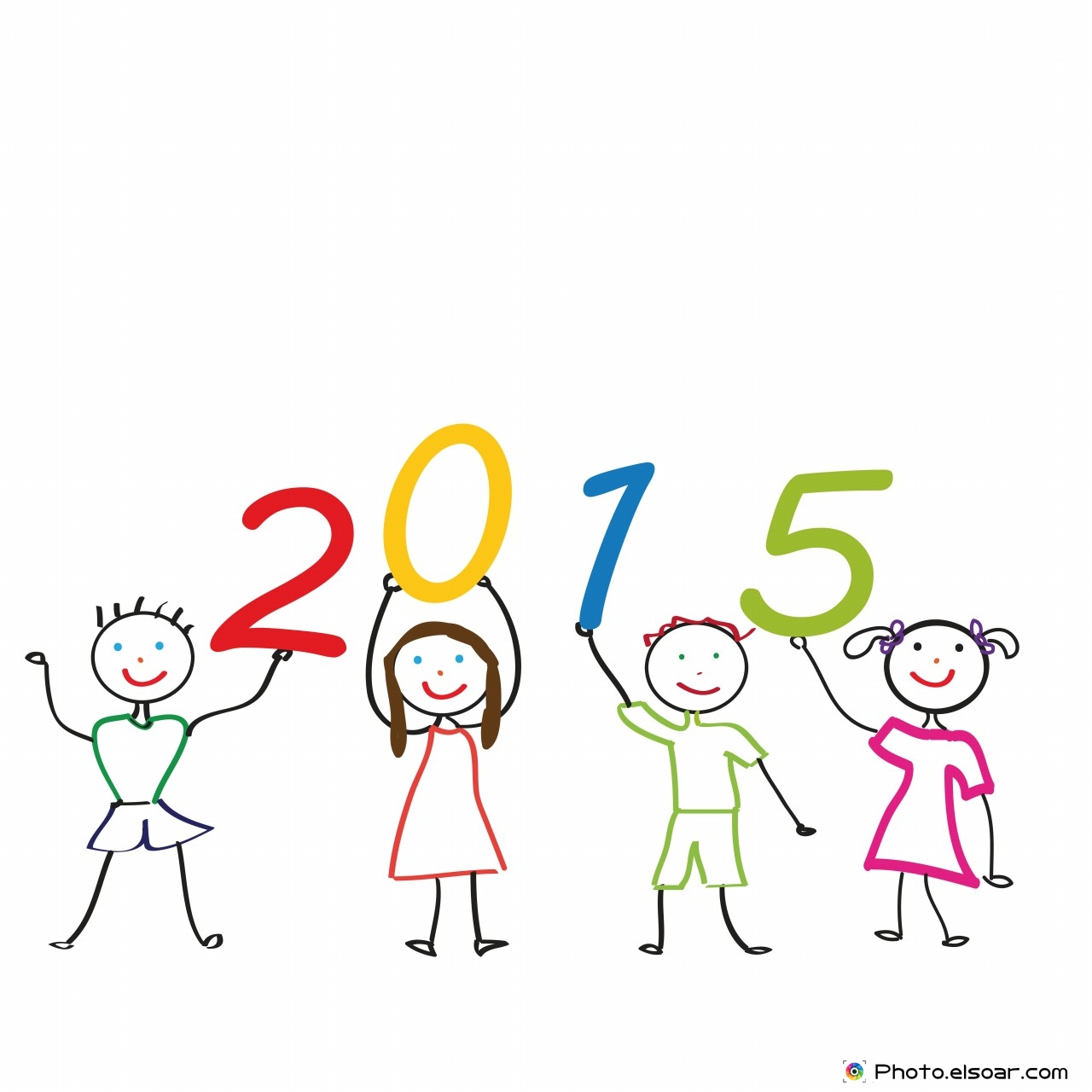 New Year 2015 With Kids