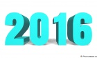 New Year 2016 Text Effects Image