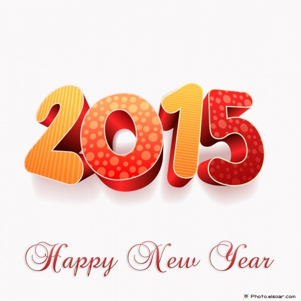 New Year's Day 2015 Greetings