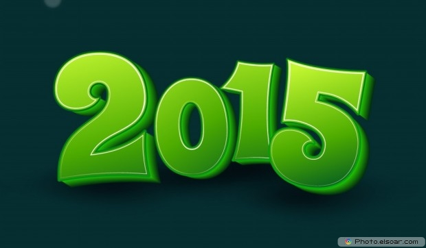 New Year's Day Hi-Res Wallpaper 2015