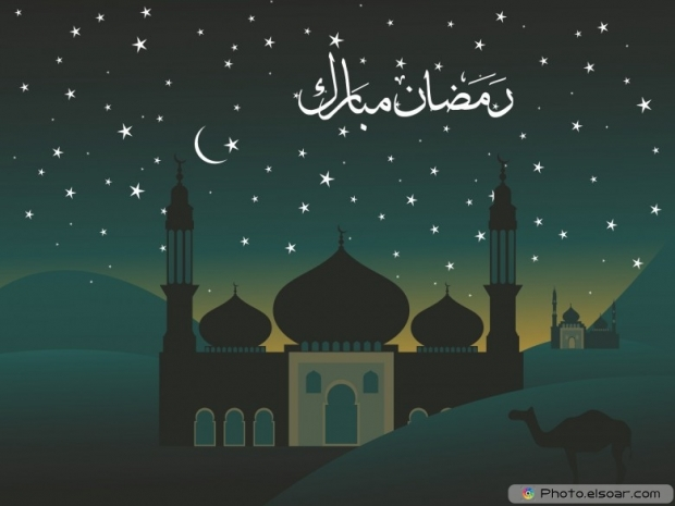 Nice background for ramadan