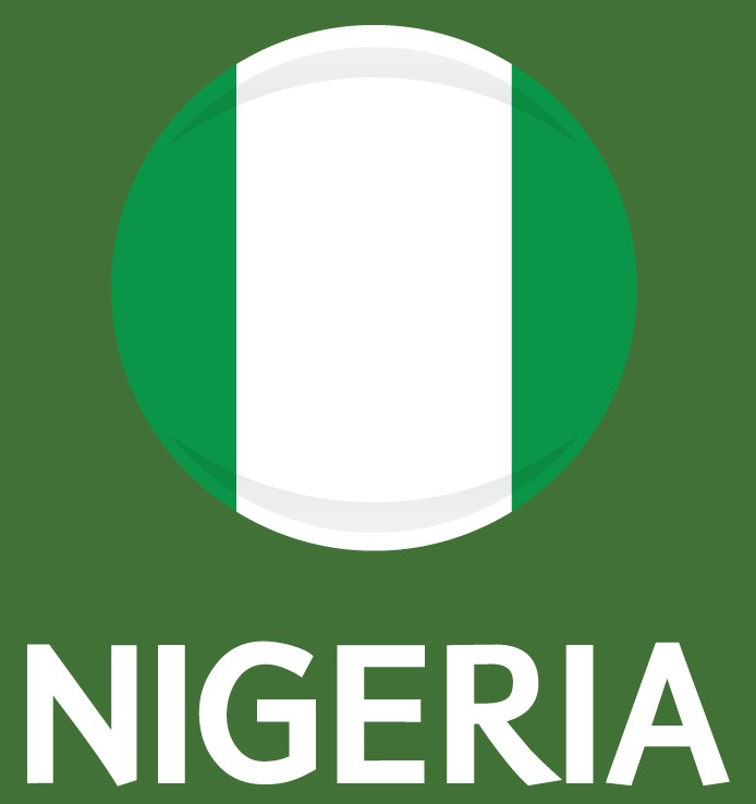 Nigeria Flag FIFA World Cup