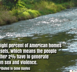Ninety-eight percent of American homes