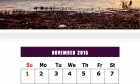 November 2015 Calendar Design