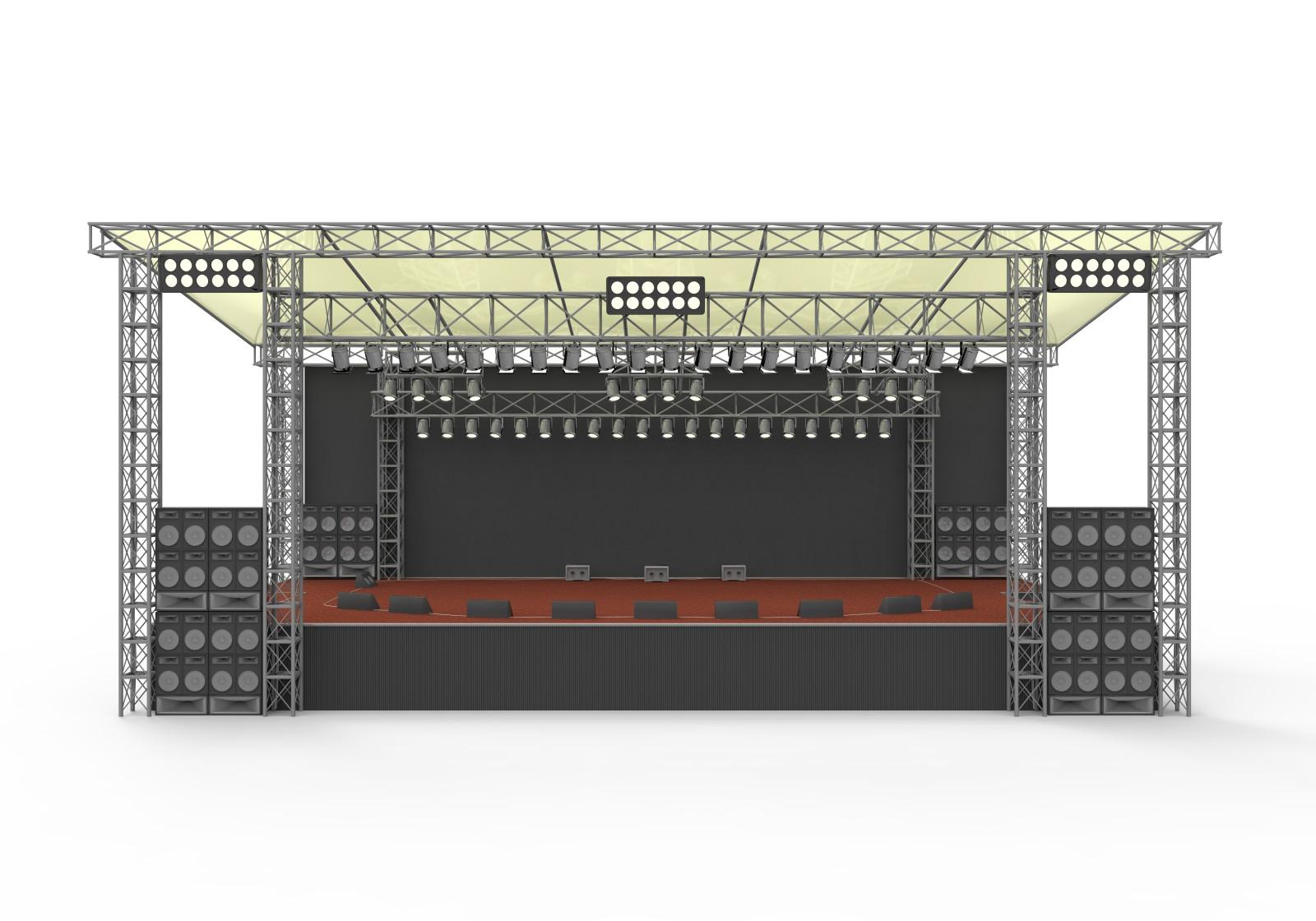 Empty outdoor concert stage - Concept Of Empty Stage With Imagesempty Outdoor Concert Stage