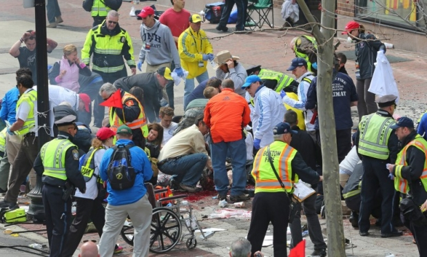 Photos, Boston Marathon Attack Injuries 4