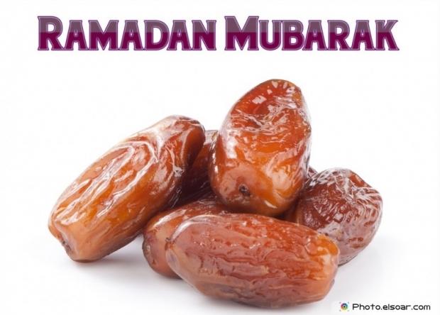 Ramadan Mubarak Image with Dates
