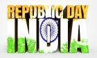 Republic Day Of India Image 3D