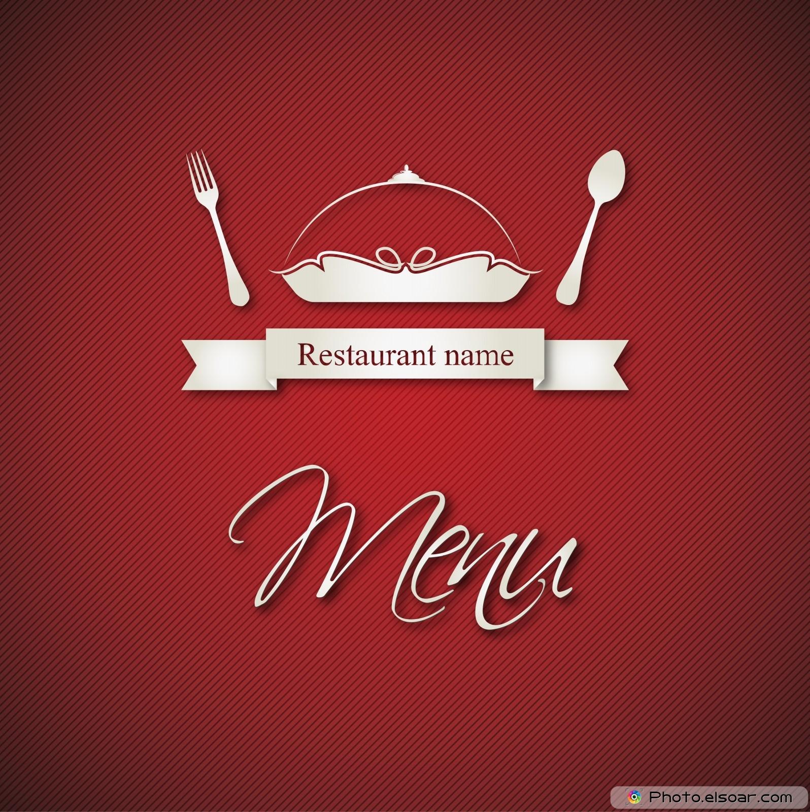 restaurant menu, free designs • elsoar