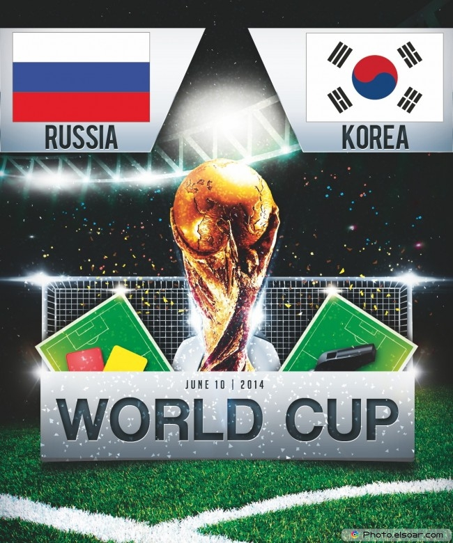 Russia vs South Korea - World Cup 2014 - 18:00 Local time - GROUP H - Arena Pantanal - Cuiaba