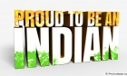 Say Proud To Be An Indian Image