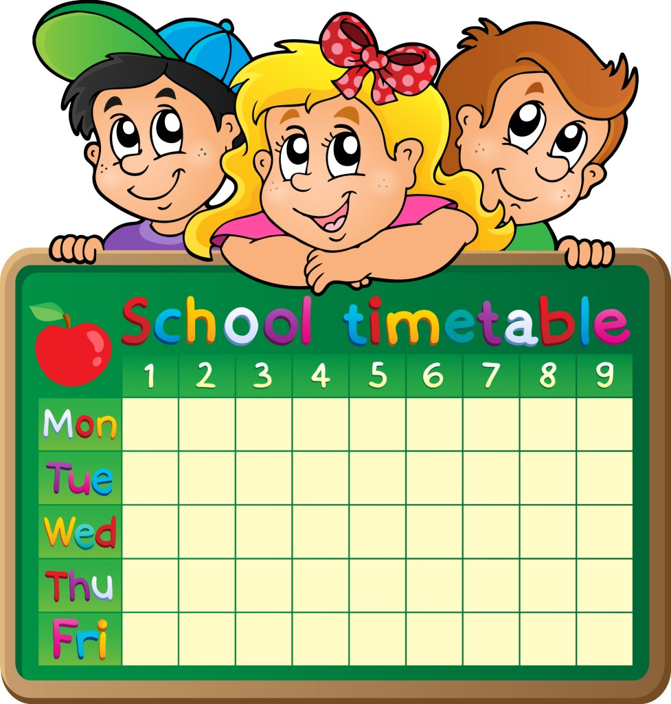 School Timetable 2013 Elsoar – School Time Table Designs
