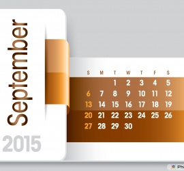 September 2015 Business Calendar
