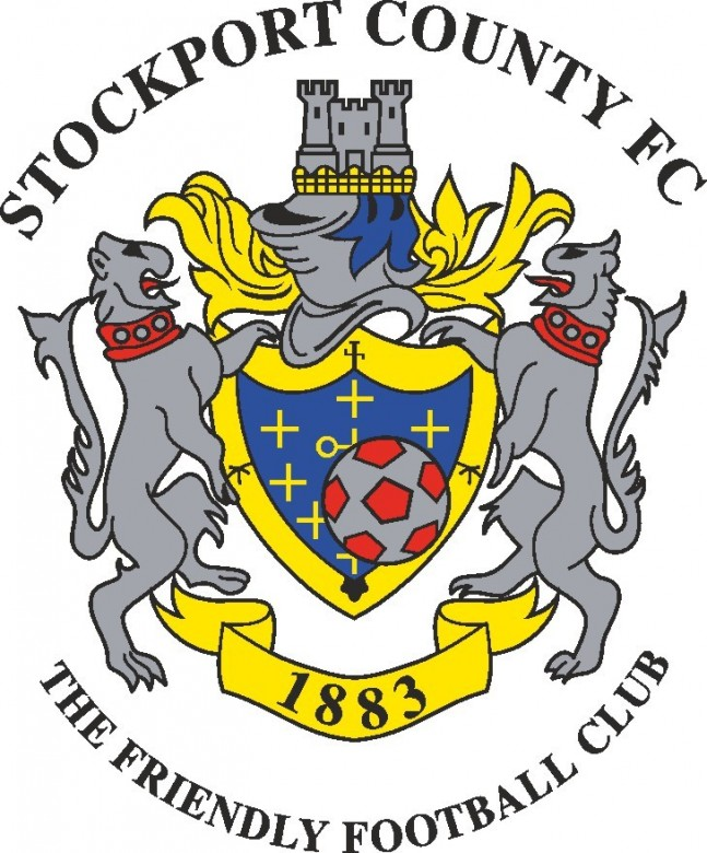 Stockport County F.C. Logo C