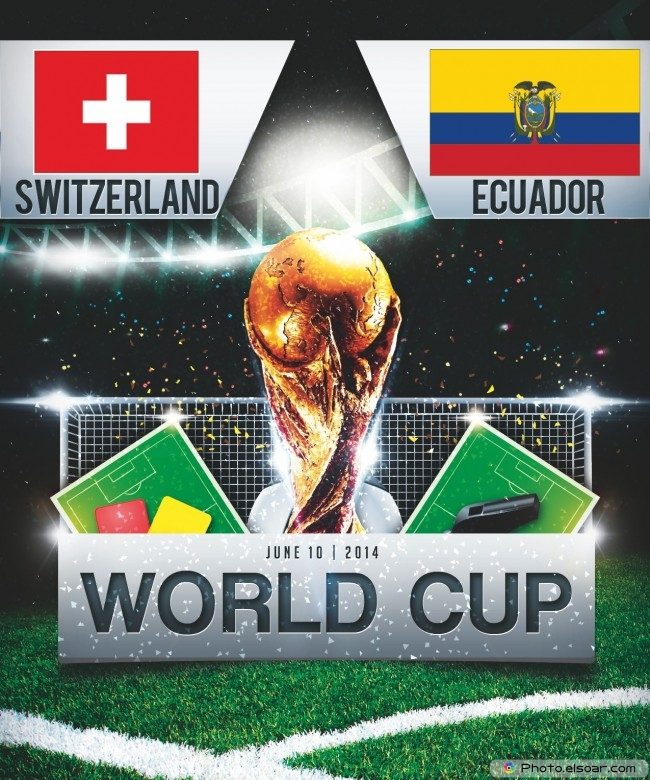 Switzerland vs Ecuador - World Cup 2014 - 13:00 Local time - GROUP E - Estadio Nacional - Brasilia