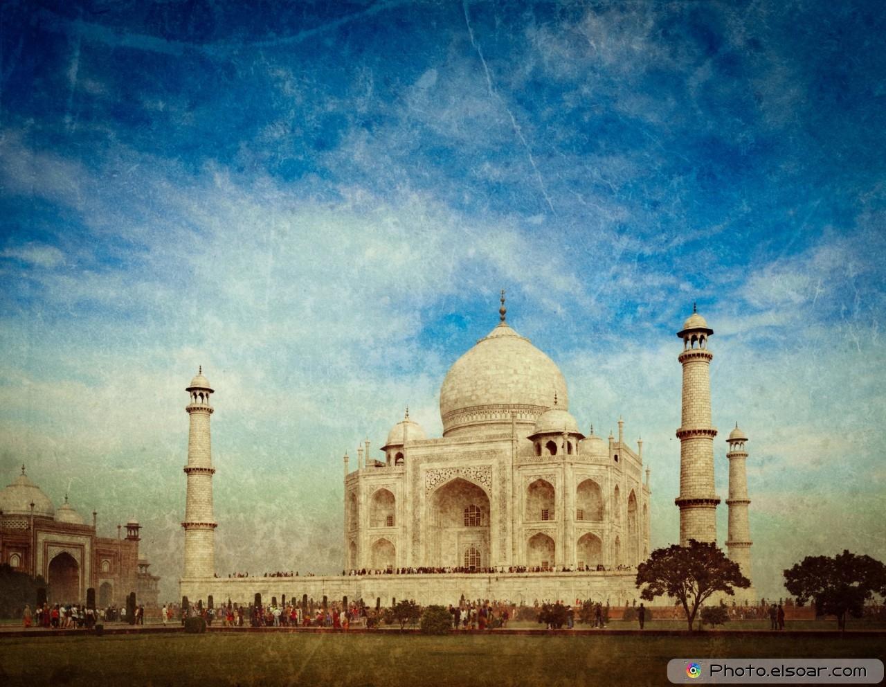 Taj Mahal. Indian Symbol