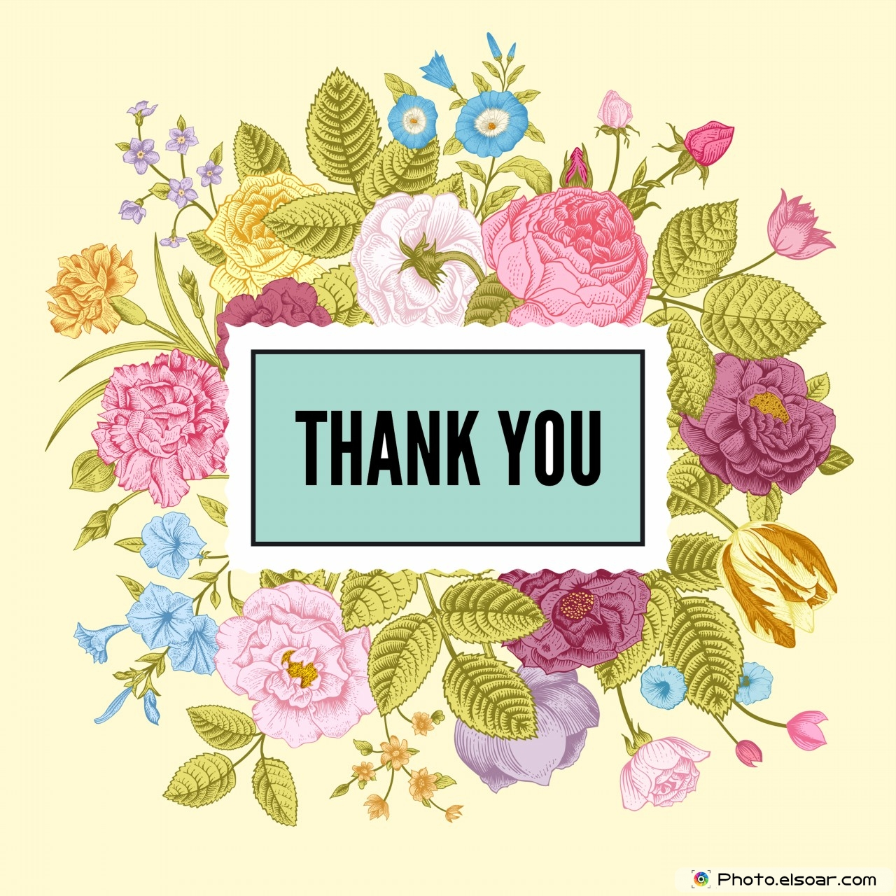 Beautiful Thank You Cards beautiful vintage thank you cards • elsoar