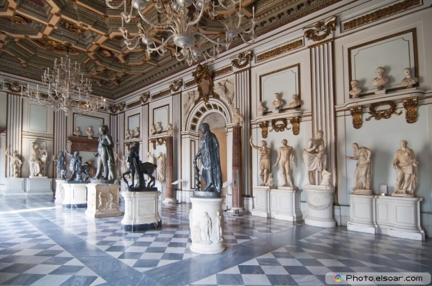 The Capitoline Museums In Rome, Italy