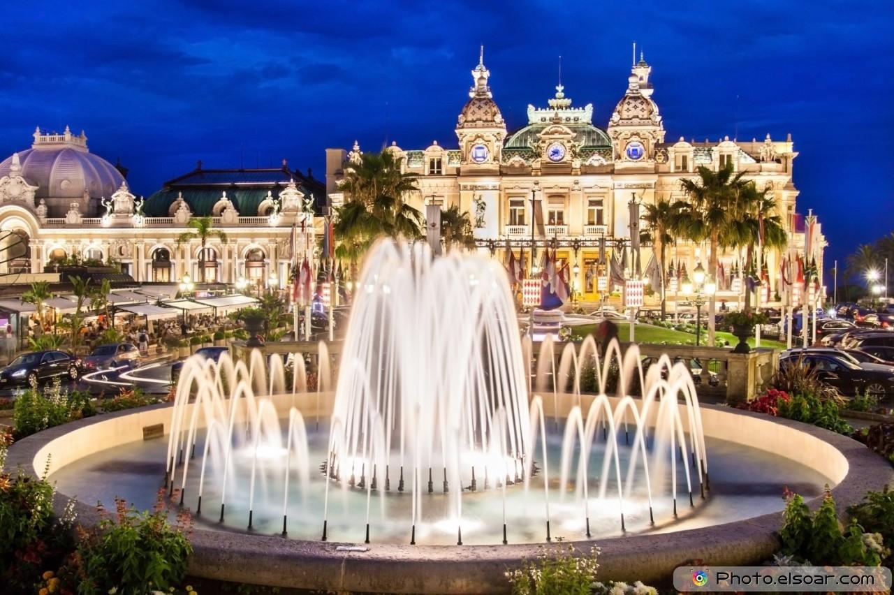 The Monte Carlo Casino, Monte Carlo, Monaco