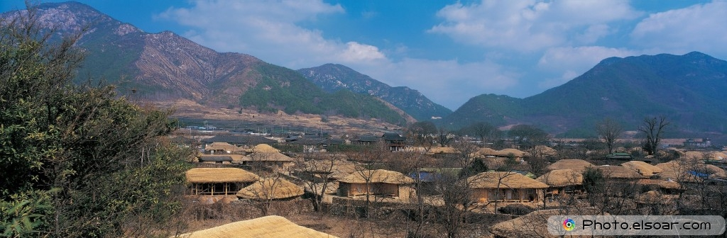 The Typical North Korean Village