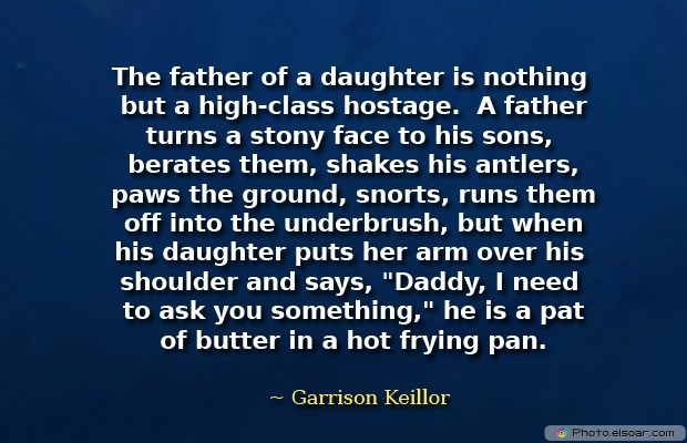 The father of a daughter