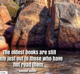 The oldest books are still only just out to those