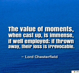 The value of moments