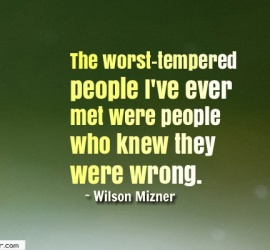 The worst-tempered people