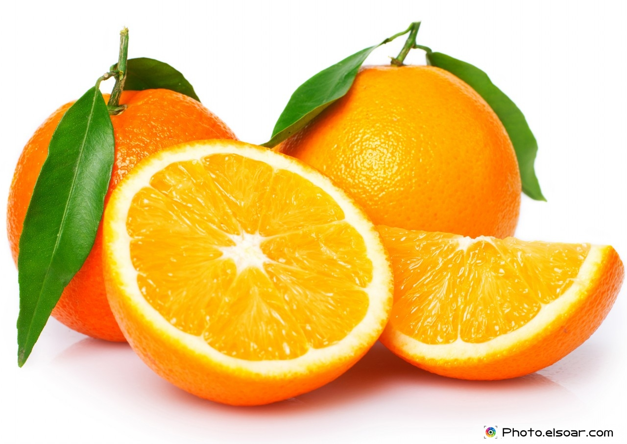 Two orange with slices Image