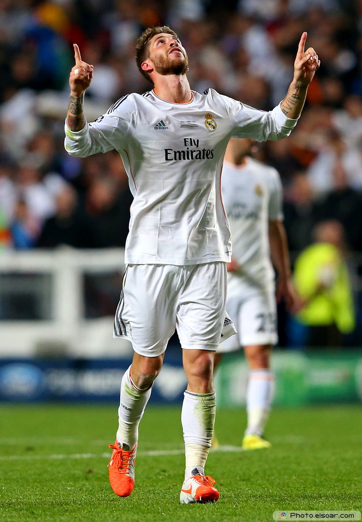 UEFA Champions League Final 2014. Sergio Ramos
