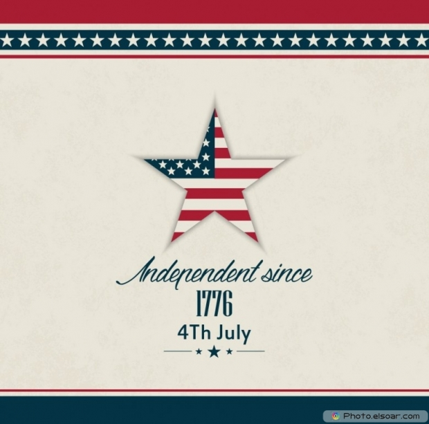USA Independent Since 1776 4th July