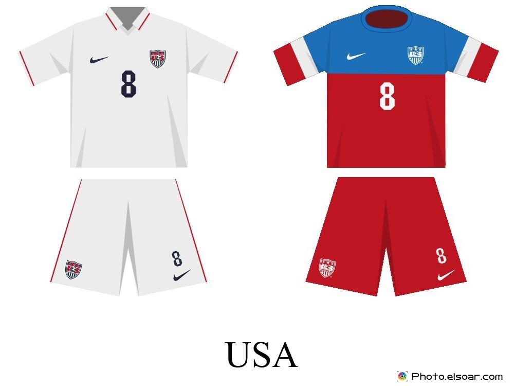 USA Kits World Cup 2014