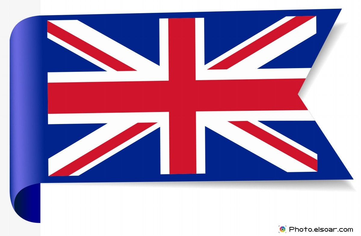 United Kingdom. Bending Flag
