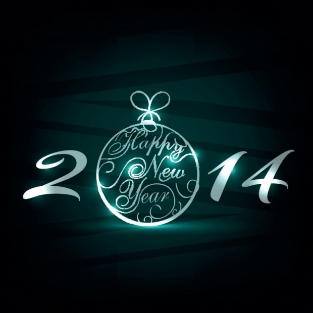 Upscale Design Happy New Year 2014 Image 2