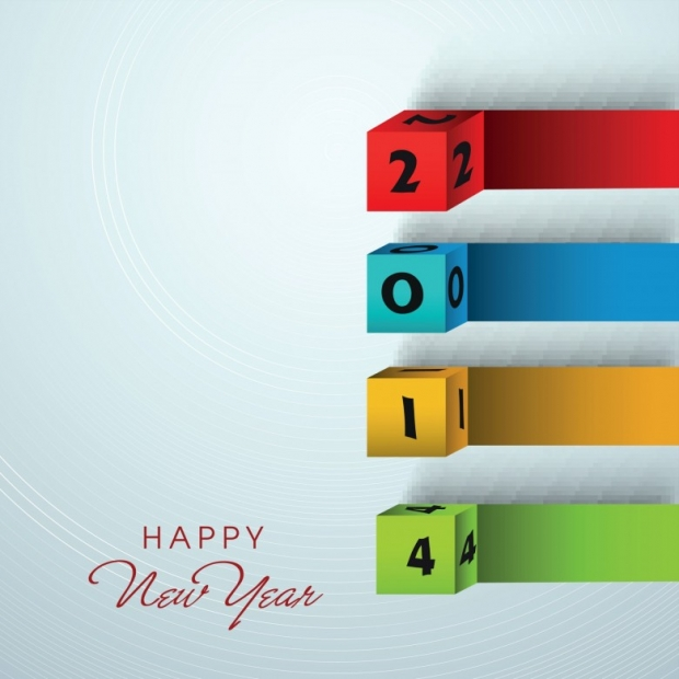 Upscale Design Happy New Year 2014 Image 6