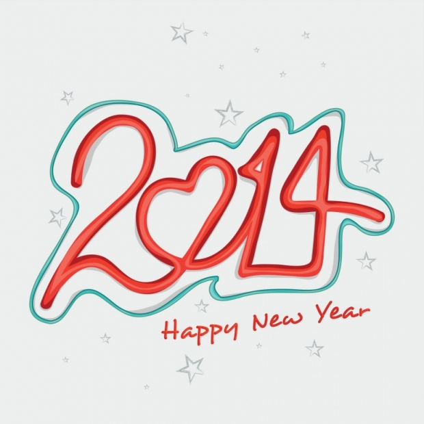 Upscale Design Happy New Year 2014 Image 7