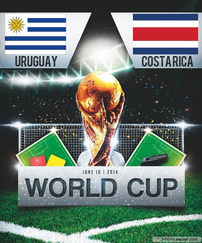Uruguay vs Costa-Rica - World Cup 2014 - 16:00 Local time - GROUP D - Estadio Castelao - Fortaleza