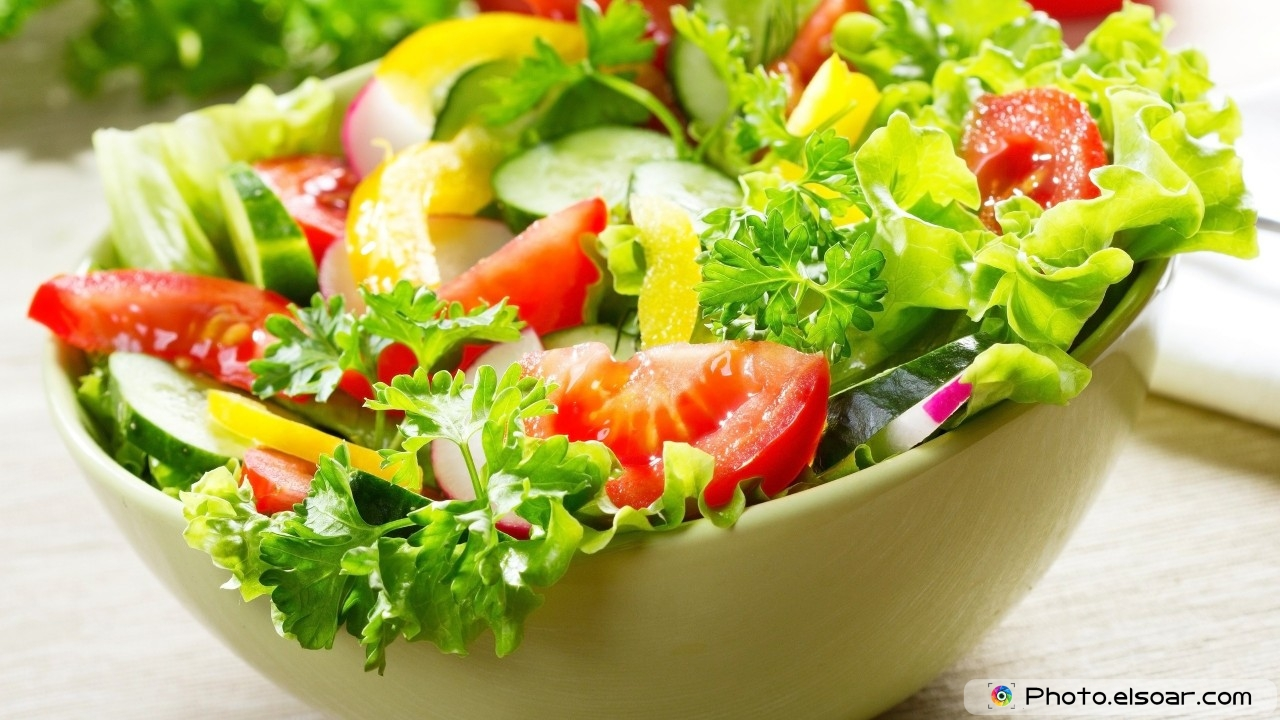 Vegetable Salad HD Wallpaper