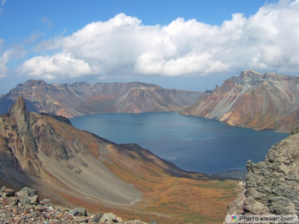 Vulcanic Lake, North Korea