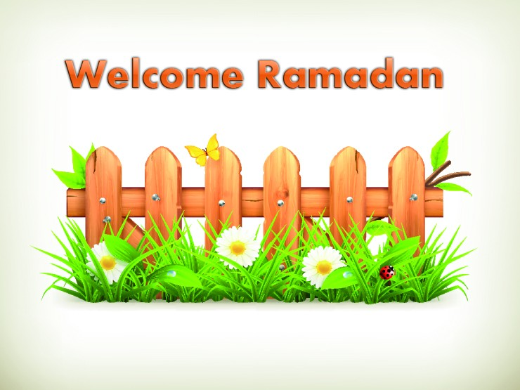 Welcome Ramadan on Wooden billboards 3