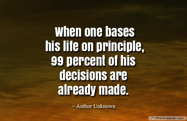 Quotes About Decisions, Quotations, Life