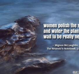 Women polish the silver