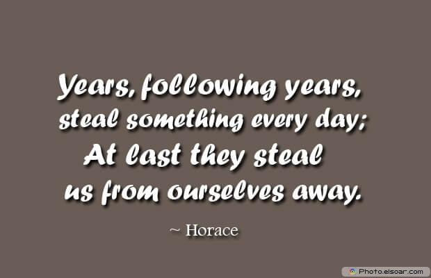 Years, following years