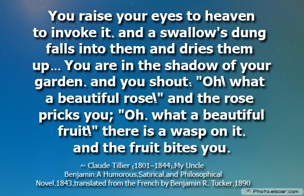 You raise your eyes