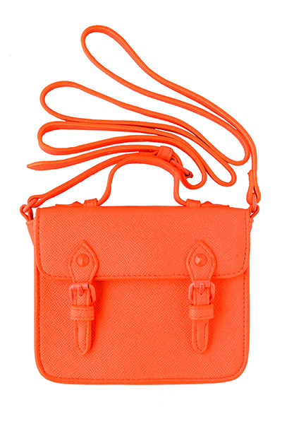 bag satchel orange