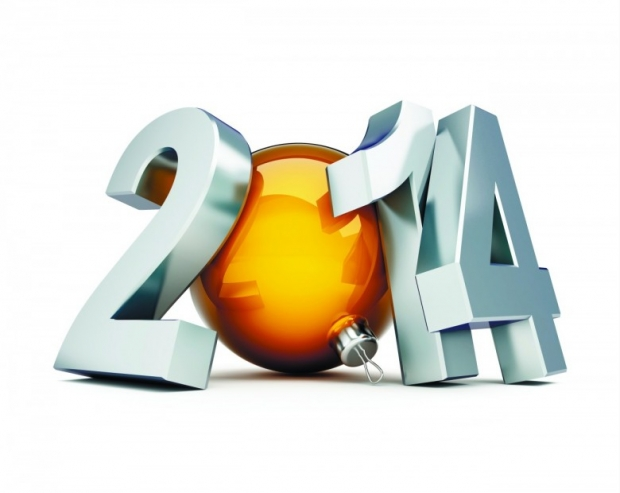 free Image 2014 Numbers Happy 2014 New Year Wallpaper