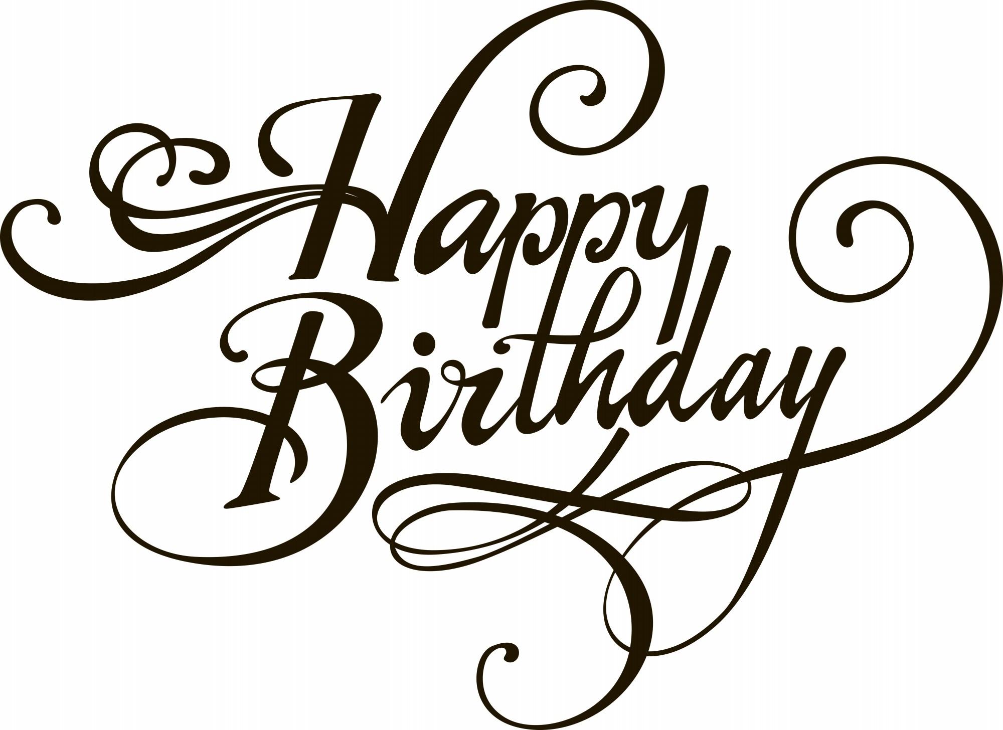 Free Birthday Greeting Card Happy Drawing Designs