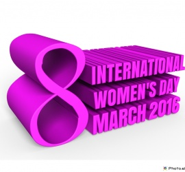 Happy International Women's Day 2016 March 8