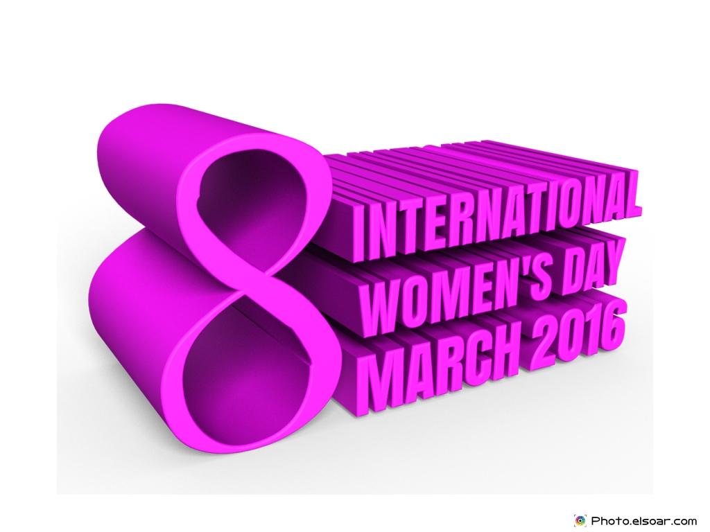Happy International Women's Day 2016 March 8